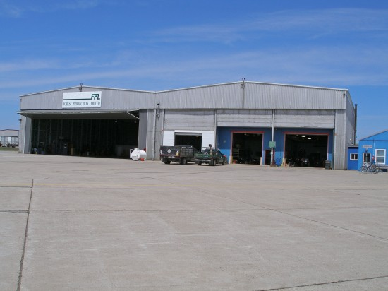 FPL hangar, Miramichi NB, 9 May 2006