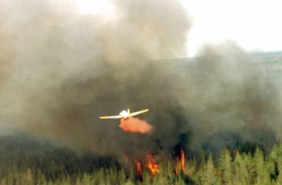New Brunswick Natural Resources Fire