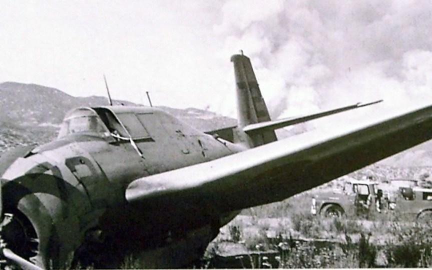 HVFS Tanker #72 forced landing_San JacintoCA_Late 60s