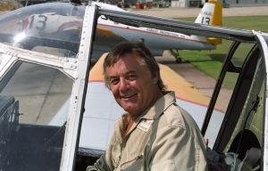 Pilot John Gomany at FPL, Miramichi NB, 2000