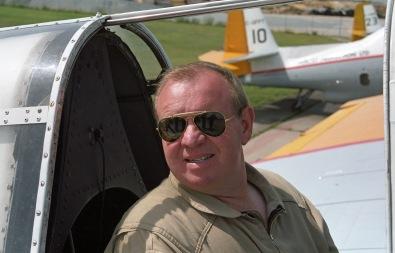 Pilot R McKinnon at FPL, Miramichi NB, 2000