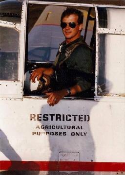 TBM pilot John Wood - fb