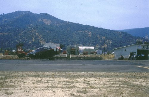Dan Dineen kindly provided this colour image of Daro #92 parked at Ukiah, CA.