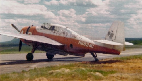 TBM_N6824C_KPQI-NMaine Regional Airport-Presque IsleME_1974-C