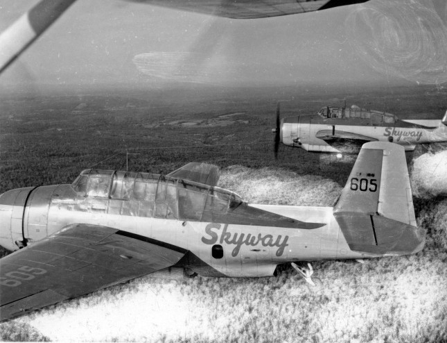 Skyway TBM #605 FIMN spraying