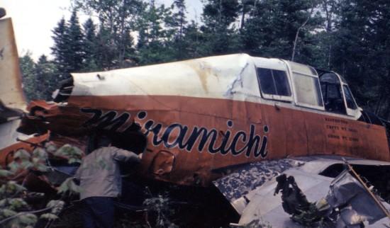 Miramichi TBM#A23 FZTS wreckage_1973_L1A-17C