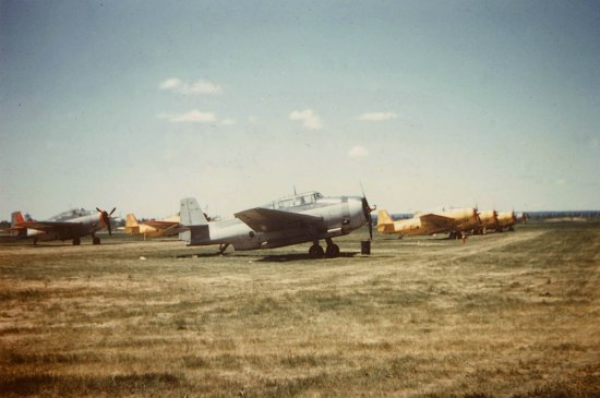 Wheeler TBM #504 FIMU and other Wheeler and Skyway TBMs, Fredericton NB, 1958
