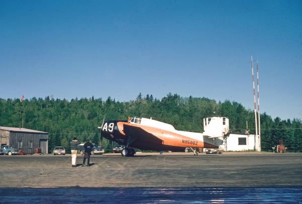 Hillcrest TBM #A9 N9586Z, Merrill McBride, 1971