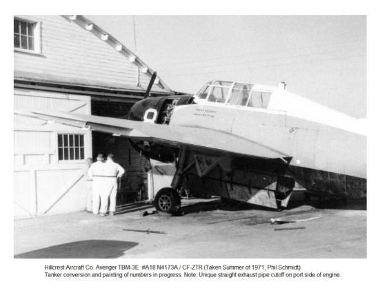 Hillcrest TBM #A18, Clarkston ID, 1971 (Phil Schmidt)