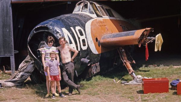 McBride family and TBM #A18 FZTR_MMcBride_1972_MM-51_crop
